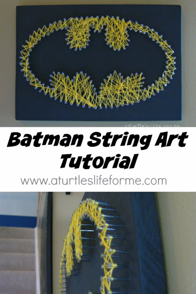 Batman-String-Art-Tutorial