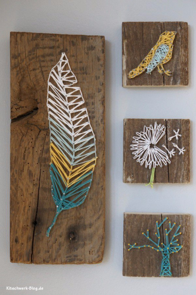 DIY-Nail-And-Thread-String-Art