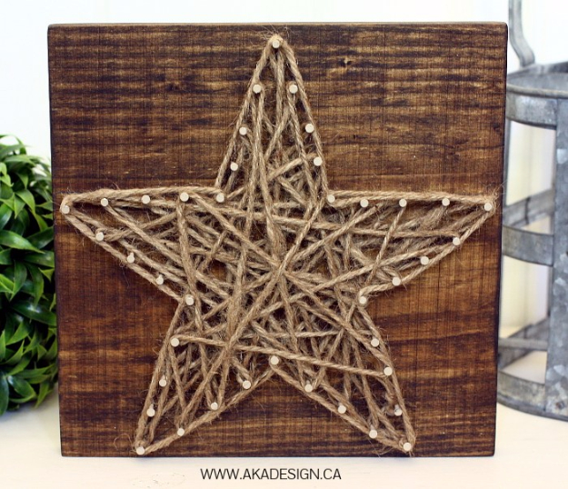 DIY-String-Art-Star