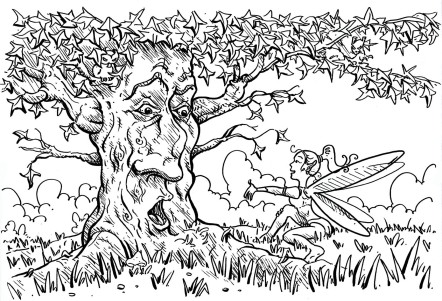 coloring-for-adults-arbre